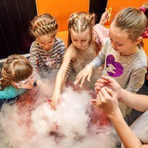eksperymenty chemiczne i fizyczne dla dzieci Warka